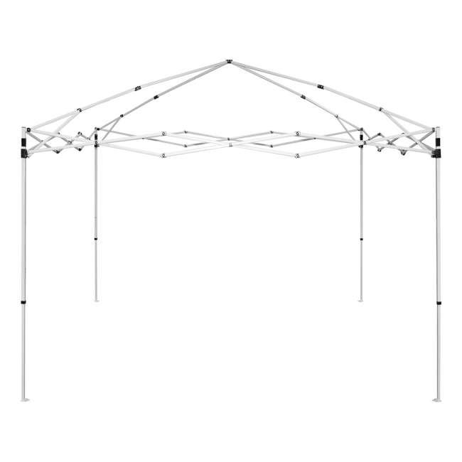 CVAN21007900020 Caravan Canopy V-Series 2 Pro 10' x 10' Straight-Leg Canopy, Blue (2 Pack) 2