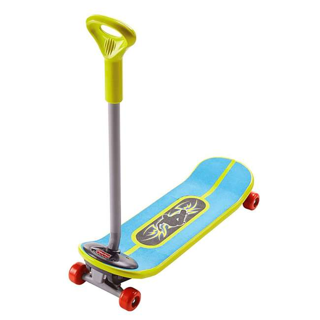 DYH05 Fisher-Price Kids Convertible Grow to Pro 3-in-1 Skateboard
