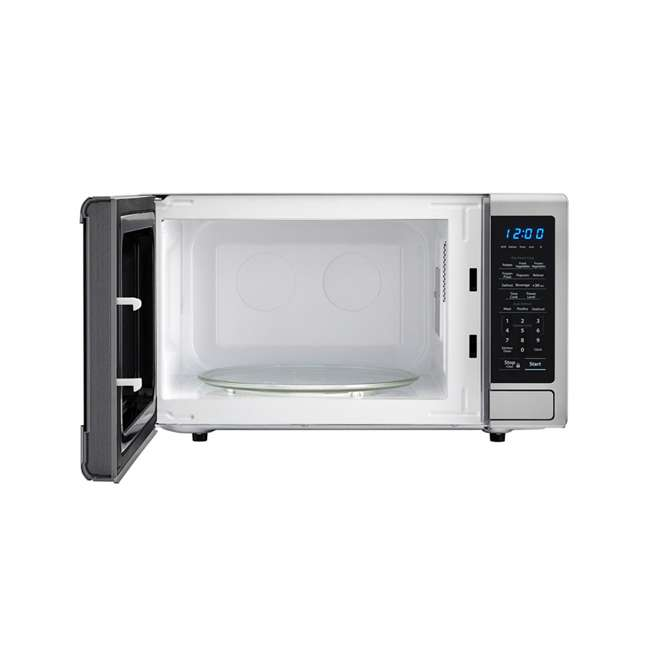 SMC1132CS-RB Sharp Carousel 1.1 Cu Ft Stainless Steel Microwave Oven (Certified Refurbished) 1
