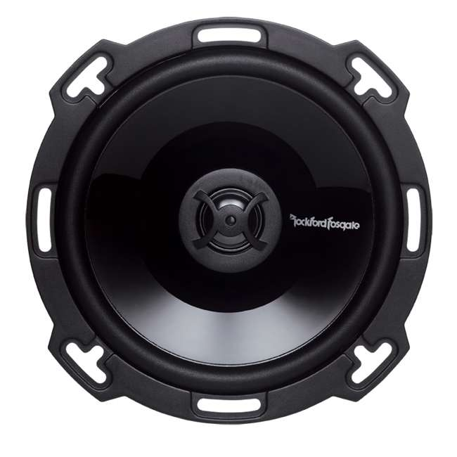 P165 + P1692 + R1004 2) Rockford Fosgate P165 6.5-Inch 110W + 2) 6x9-Inch 150W 2-Way Speakers + 400W Amp (Package) 5