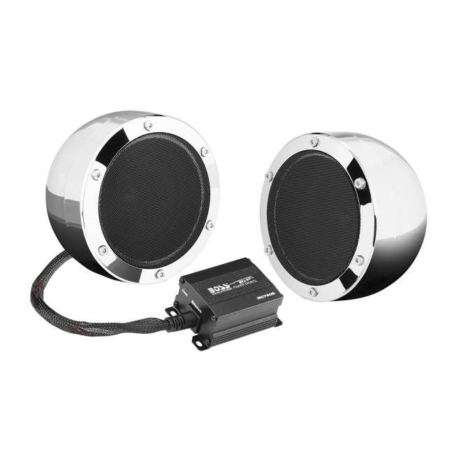 MC720B Boss MC720B 4-Inch Full Range ATV Bluetooth Speakers, Pair