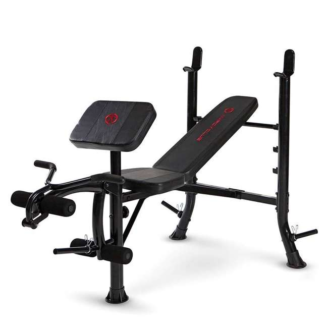 MKB-367RH-U-A Marcy Pro MKB-367RH Standard Weight Bench for Racks and Home Gyms(Open Box) 1