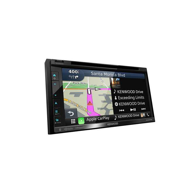 DNX575S Kenwood DNX575S 2-Din 6.8-Inch Multimedia Receiver with GPS 6