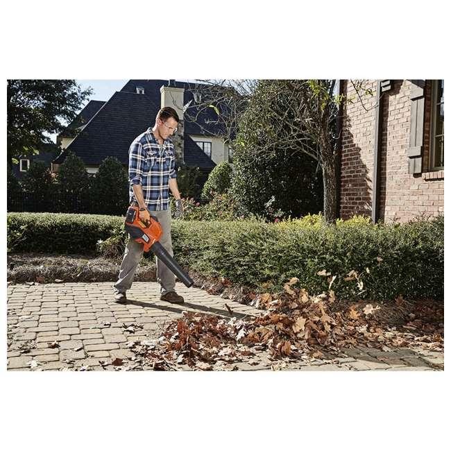 HV-BL-967094202 320iB 40V Brushless Lithium Ion Leaf Blower, Orange 5