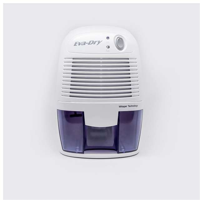 EDV-1100 Eva Dry EDV-1100 Petite 8 Ounce 1,100 Cubic Feet Home Electric Mini Dehumidifier 1