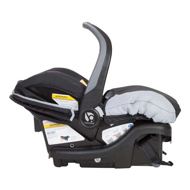 SS76B51A + 2 x CS79B51A Baby Trend Sit N Stand Tandem Stroller + Car Seats (2) Travel System, Stormy 8