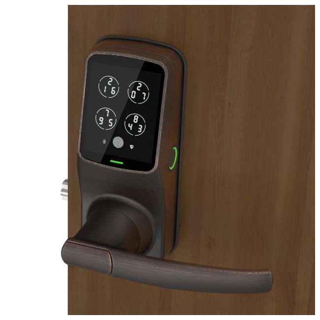 PGD628FVB Lockly PGD628 Bluetooth Keyless Entry Touchscreen Door Handle, Venetian Bronze (2 Pack) 2