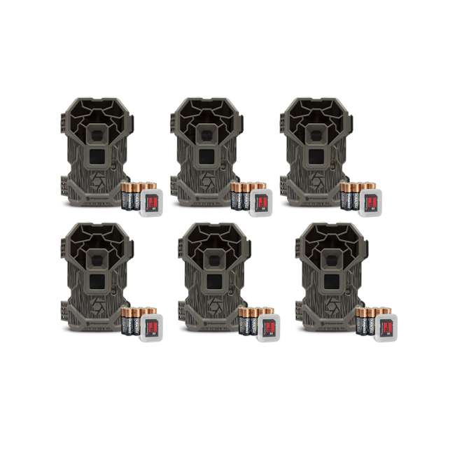 6 x STC-PXP36NGK Stealth Cam Camouflage Wildlife Hunting Game Camera (6 Pack)