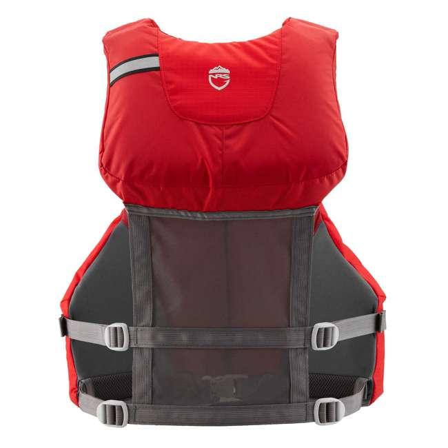 NRS_40009_04_102 NRS PFD Chinook Unisex Fishing Lifejacket, Red, Small/Medium 1