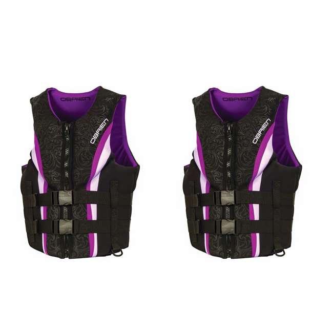 2141766-MW OBrien Womens Neo Impulse Life Vest, Adult Large (2 Pack)