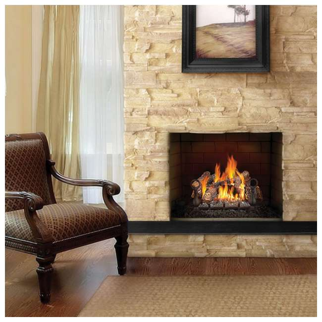 GL24NE Fiberglow 24-Inch Vented Logs for Natural Gas Fireplace 3