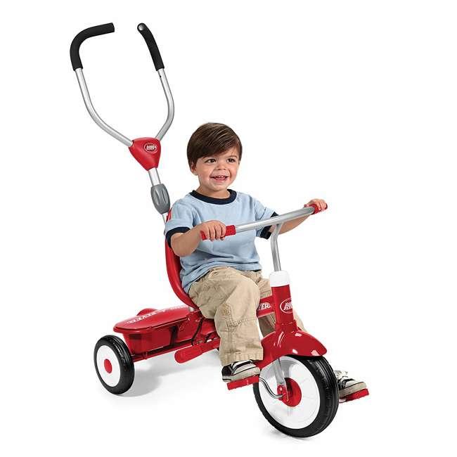 809A Radio Flyer Sport 4 in 1 All Terrain Kids Stroll 'N Trike Ride On Tricycle, Gray 3