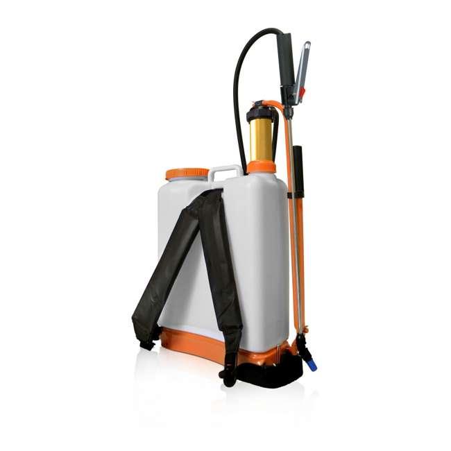JACTO-1210801 Jacto CD400 Lightweight 4-Gallon Backpack Sprayer 4