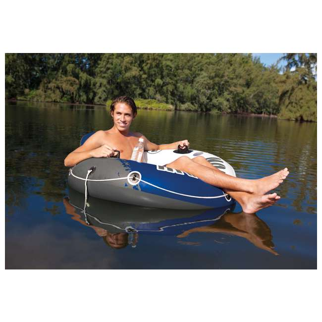 3 x 58825EP-U-A Intex River Run 1 Person Inflatable Floating Tube Raft for Lake/Pool  (Open Box) 2