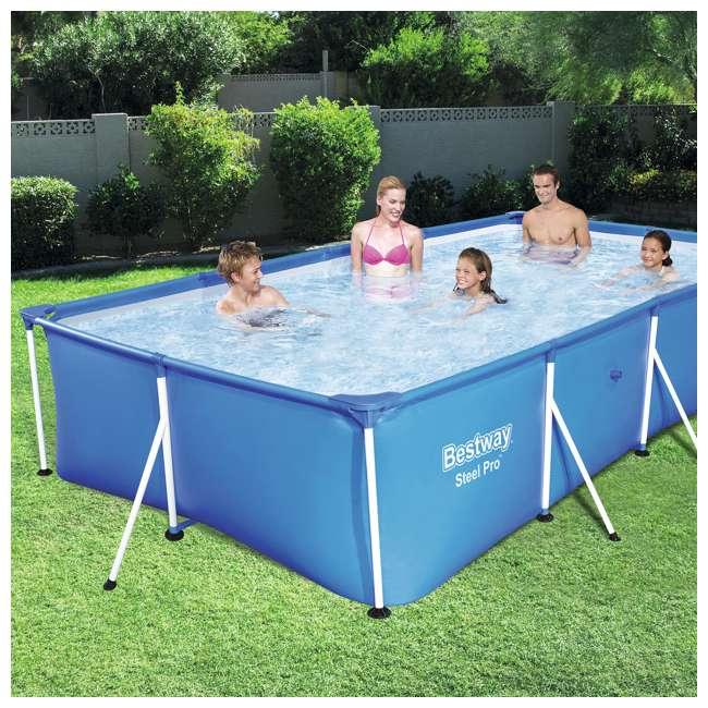 Bestway Steel Pro 157 X 83 X 32 Inch Frame Swimming Pool