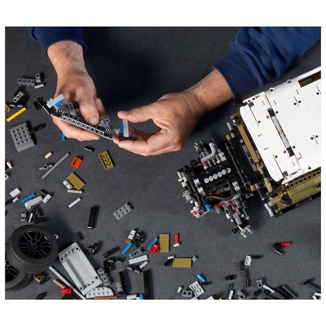 6283904 LEGO Technic 42110 Land Rover Defender 2573 Piece Block Building Kit Olive Green 5