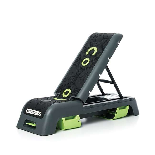EST-DECK_Grau Escape Fitness Multi Purpose Deck for Step, Weight Training, Bootcamps, and More 4