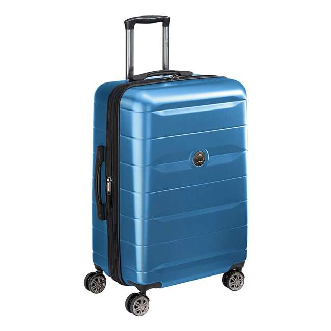"40386582022 DELSEY Paris Comete 2.0 24"" Expandable Spinner Upright Travel Bag, Steel Blue 1"