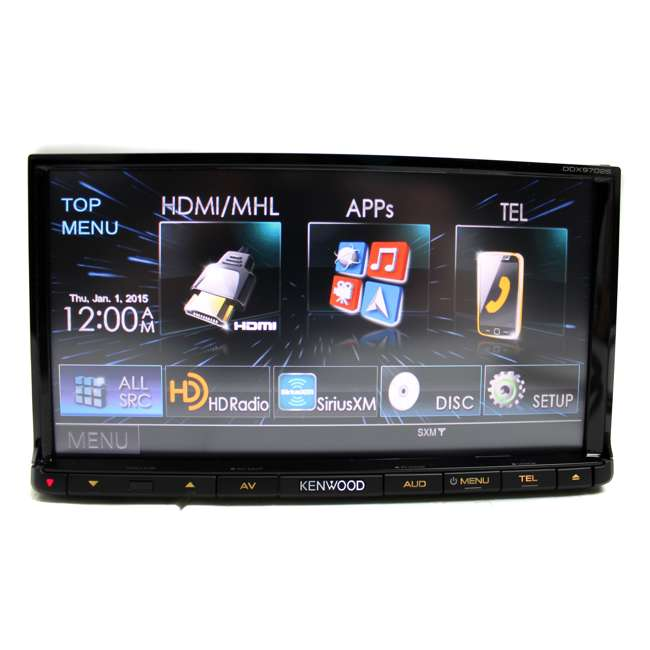Kenwood DDX9702S 7 Inch Double Din Bluetooth Touchscreen
