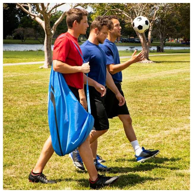 SO200Y19004 Training Equipment Pair of 4 Foot Pop Up Soccer Goals 7