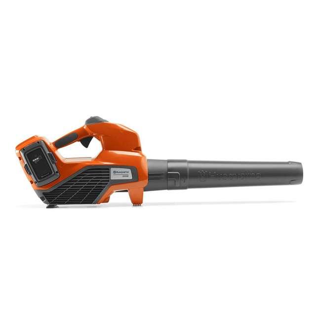 HV-BL-967094202 320iB 40V Brushless Lithium Ion Leaf Blower, Orange 2
