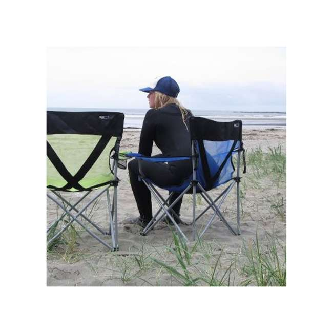 579VB TravelChair 579V Teddy Folding Portable Camping Hunting Nylon Mesh Chair, Blue 1