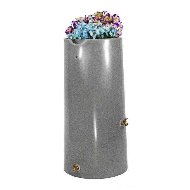 IMP-R50-LIG Good Ideas Impressions Reflections 50 Gallon Rain Saver, Light Granite