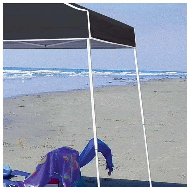 ZSB10INSTBK-PB-U-A Z-Shade 10' x 10' Angled Leg Instant Shade Canopy Tent Shelter, Black (Open Box) 2
