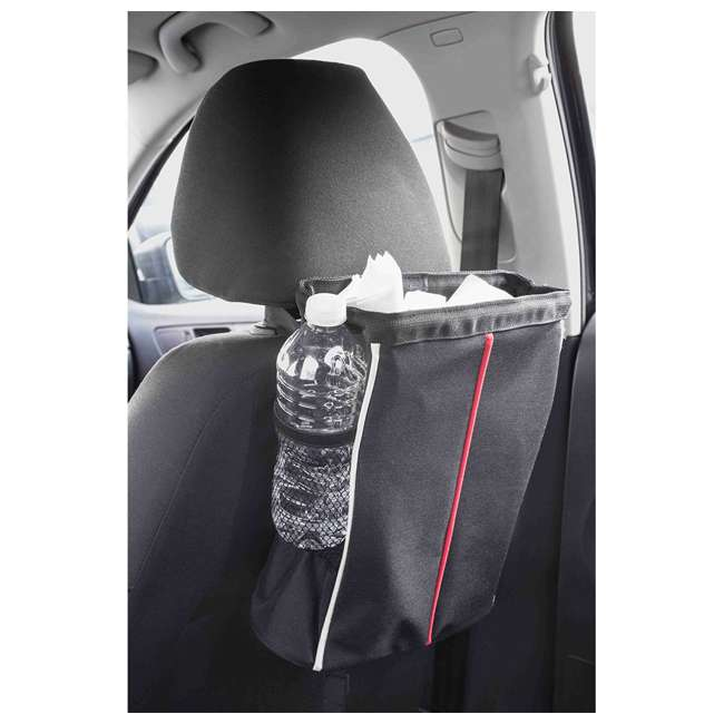 CS49080-U-A Home Basics Over the Seat Hanging Vehicle Litter Garbage Holder Bag (Open Box) 1