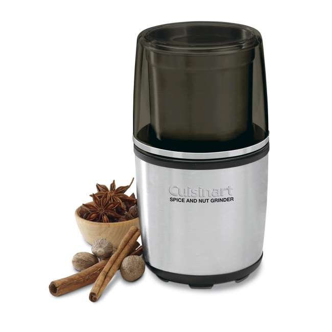 4 x SG-10-RB Cuisinart Freshly Grounded Spice and Nut Grinder (4 Pack) (Certified Refurbished) 1