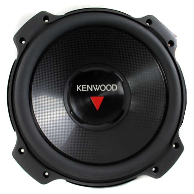 KFC-W3016PS + QBASS12 Kenwood 12-inch 2000 Watt Car Subwoofer (Pair) + Q Power Dual 12-inch Vented Port Sub Enclosure Box 1