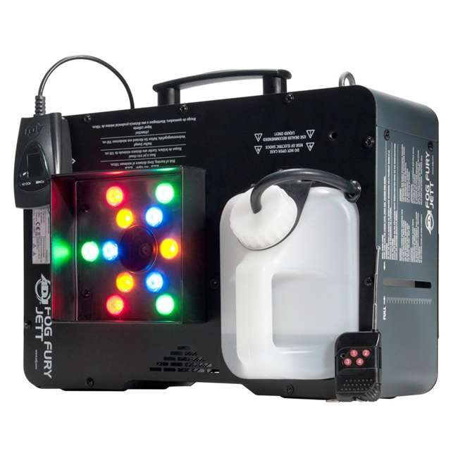 4 x FOG-FURY-JETT American DJ Fog Fury Jett Smoke Machine & LED Lights with Wireless Remote (4 Pack) 3
