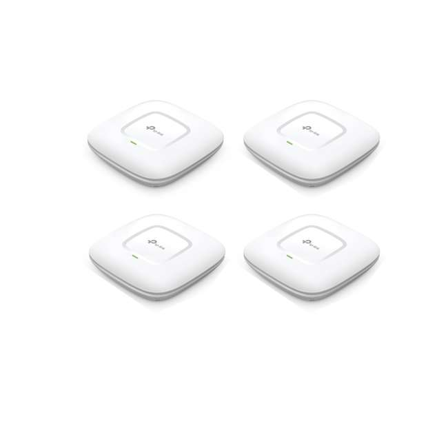 4 x TPL-EAP245 TP-Link AC1750 Wireless Dual Band WiFi Access Point (4 Pack)