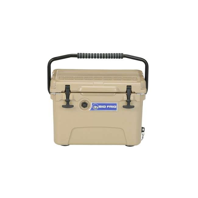 BFDB20-SD Big Frig Denali 20 Quart Insulated Cooler with Cutting Board and Basket, Sand 1