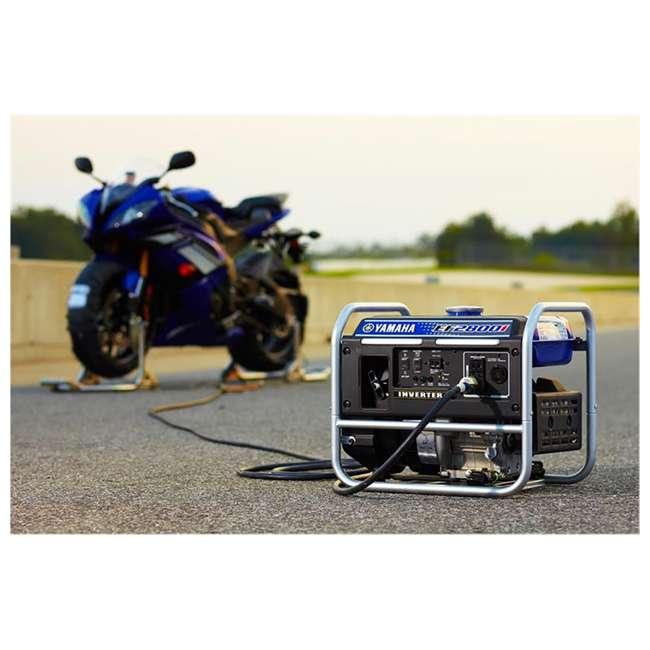EF2800i Yamaha EF2800i 2500-Watt Inverter Generator, Blue   4