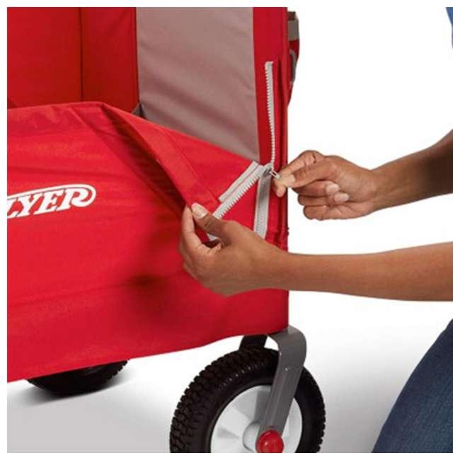 3955Z Radio Flyer All-Terrain 3-in-1 Off-Road EZ Folding Wagon 9