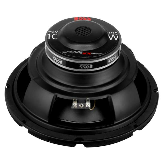 CXX10 Boss CXX10 10-Inch 800W 4-Ohm Power Subwoofer (Pair) 2