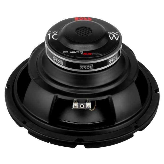 CXX10 Boss CXX10 10-Inch 800W 4-Ohm Power Subwoofer (Pair) 2