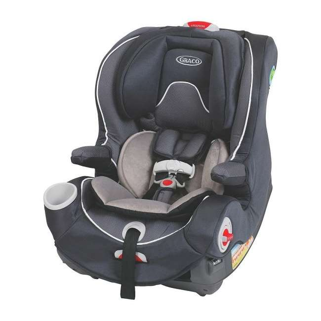 1802320 Graco Smart Seat All-in-One Convertible Car Seat - Rosin