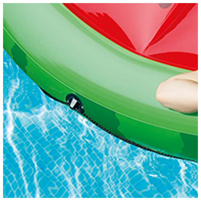 56283EP + 66639E Intex  72-Inch Watermelon Island Raft | Intex 120V Quick Fill AC Air Pump 5