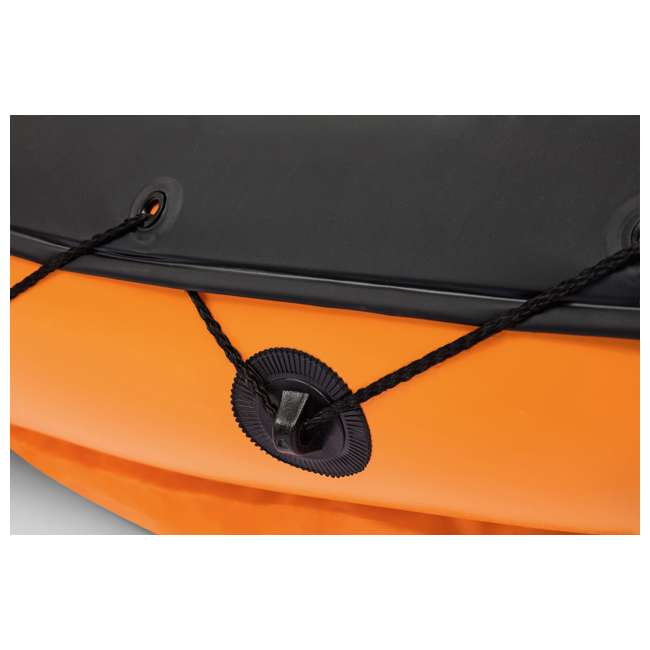65077E-BW Bestway 126 x 35 Inches Lite-Rapid X2 Inflatable Kayak Float with Oars | 65077E 4