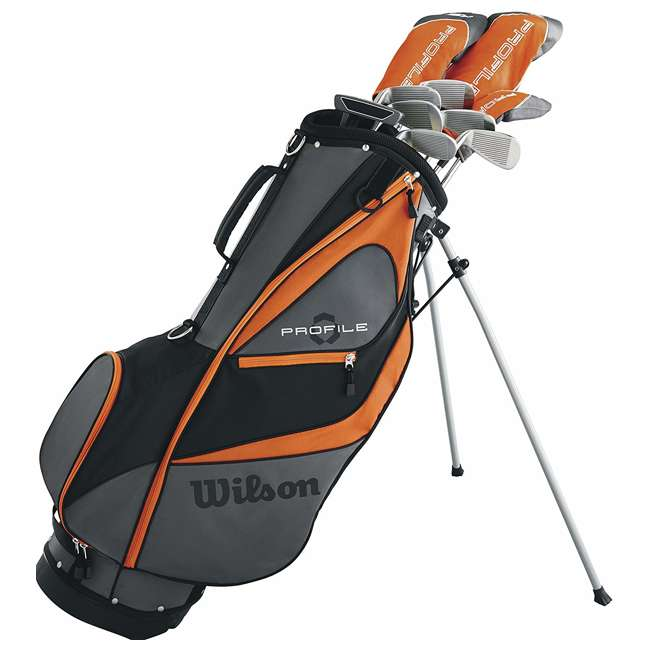 WGGC5830L Wilson Profile XD Teen Left Handed Golf Club Package Set w/ Carry Bag (2 Pack) 2