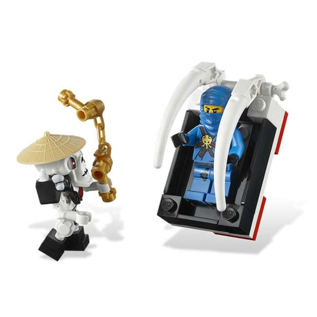 2506 LEGO® NINJAGO® Skull Truck Set w/ Minifigures   2506 3
