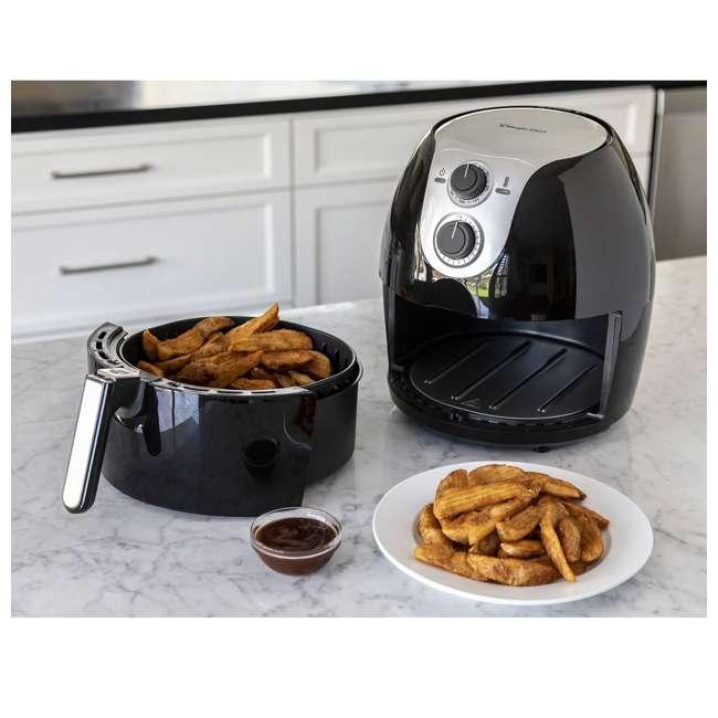MCAF56MB-U-B Magic Chef Manual XL Oil-Free 5.6 Quart Air Fryer, Black (Used) 1