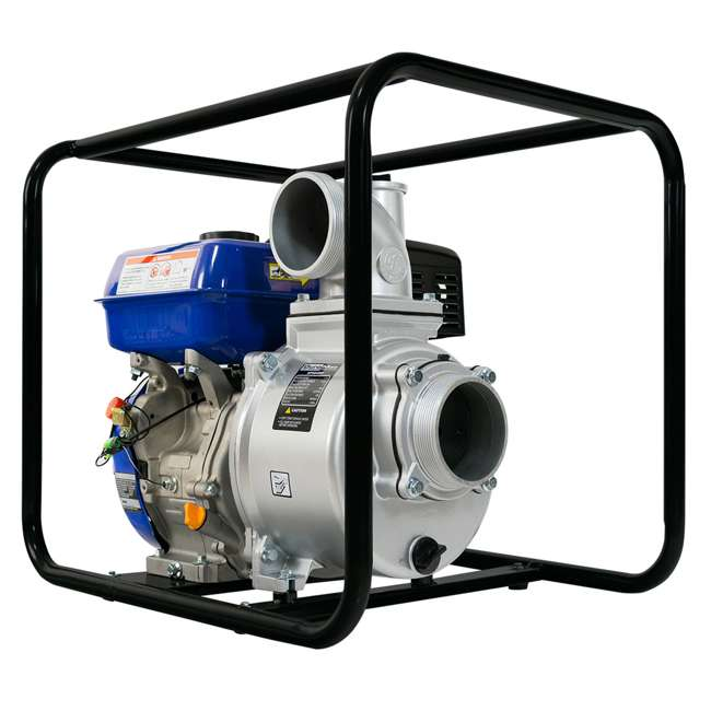 XP904WP DuroMax 9 HP 427 GPM 3,600 RPM 4-Inch Portable Water Pump (2 Pack) 2