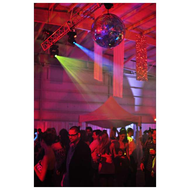 INTIM-SPOTLED350 + 2 x CUBIX Intimidator Spot 350 CHAUVET LED Moving Head DJ Lights (2) + Cubix Lights (2) 7