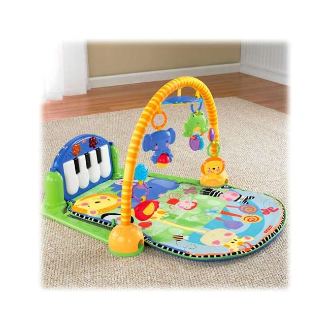 W2621 Fisher Price Kick & Play Piano Muscial Gym 4