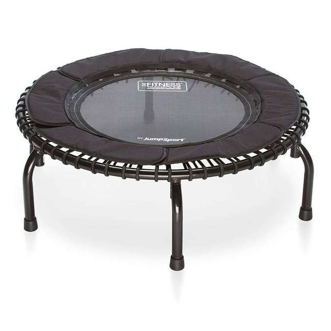RBJ-S-20188-00 JumpSport 250 In Home Cardio Fitness Rebounder Mini Trampoline and DVD, Black