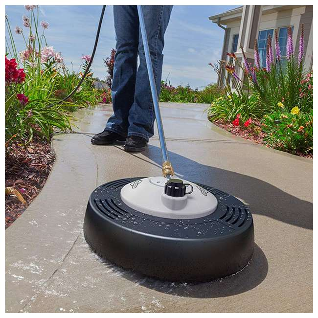 SURFACE-CLEANER-6337 Briggs & Stratton 6337 Rotating Surface Cleaner with Built In Detergent Tank 5