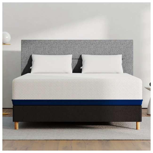 AS5-K Amerisleep AS5 Soft Feel Bio Core Plush Foam Active Flex King Mattress, White 3